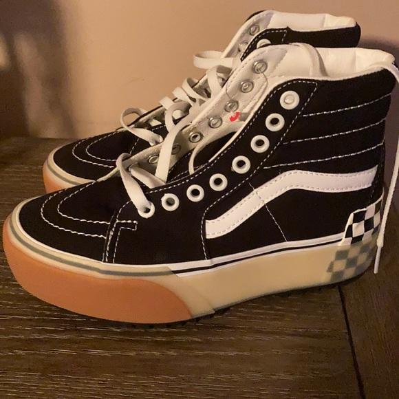 Vans Shoes | Vans High Tops Size 5 New
